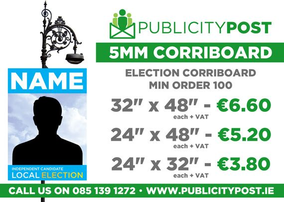Election 5mm Corriboard
